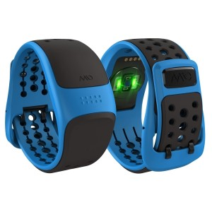 Mio Velo GPS Cycling Heart Rate Band - Blue