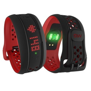 Mio Fuse Heart Rate Monitor & Activity Tracker Sport Watch - Crimson