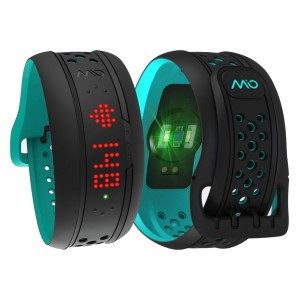Mio Fuse Heart Rate Monitor & Activity Tracker Sport Watch - Aqua
